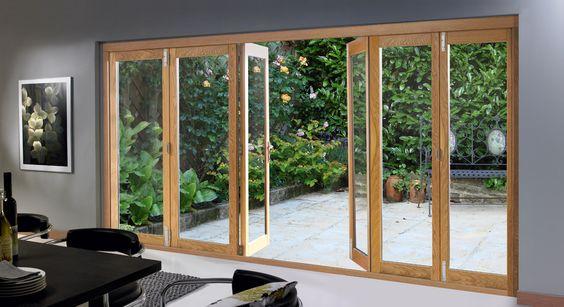 Buy Folding Sliding Patio Doors, 16ft   Bi Folding, Wooden Folding Patio Doors   6 Timber Patio Doors