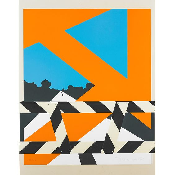 "Allan D'Arcangelo. "" Years, 1963-1969"" Lot706 Rago Auctions."