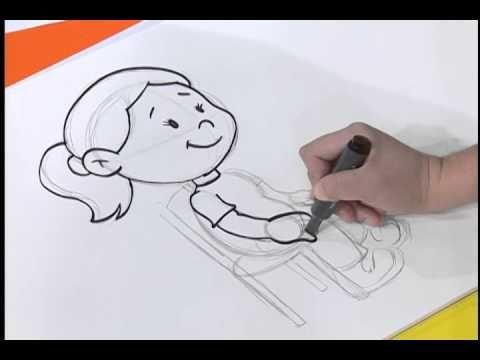 Desenhando Uma Pessoa Sentada Youtube Desenhos Pessoa Sentada