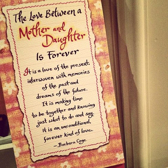 I love my mom!! ♥