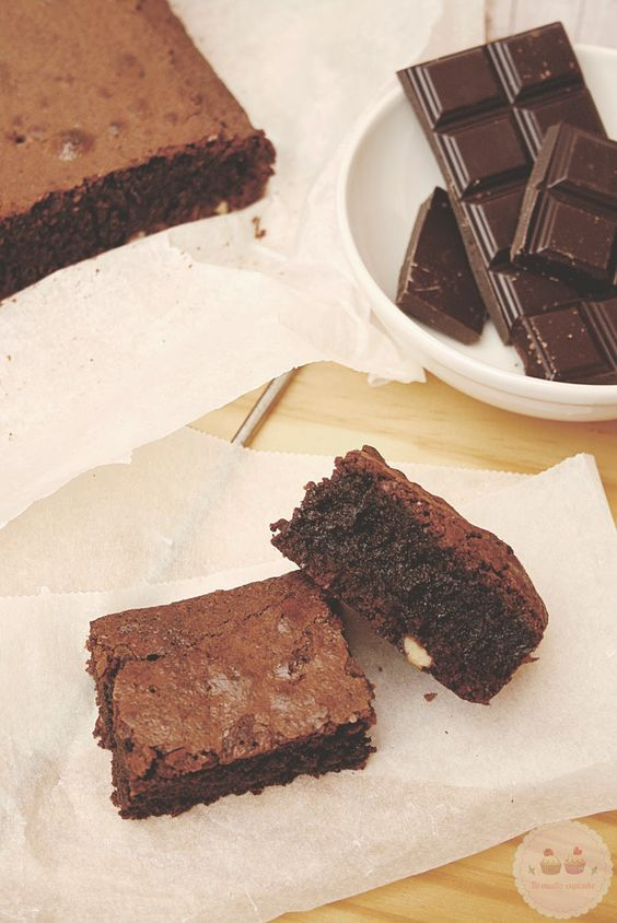 brownie de chocolate perfecto: