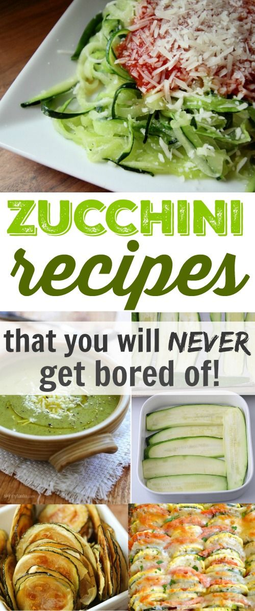 Zucchini recipes that will keep you from getting bored throughout your garden's…