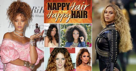 """E' ufficiale: una riccivoluzione è in corso! Celebrità come Beyoncè, Rihanna e molte altre sono tornate al loro look curly dopo anni grazie a una parolina magica: NAPPY, unione degli aggettivi """"natural"""" e """"happy"""". In origine il termine aveva un senso negativo e indicava la texture dei capelli afro, poi le donne hanno lanciato il movimento NAPPY per sentirsi libere di poter scegliere come portare la loro chioma. Ed ora che i capelli ricci siano belli così come sono non è più in discussione…"""