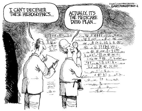 Heiroglyphics No Medicare Health Insurance Humor Medicare Humor Medicare