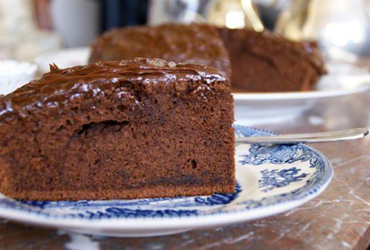 Torta Borracha de Chocolate