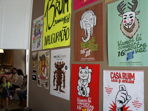 Our Design Posters by Casa Ruim