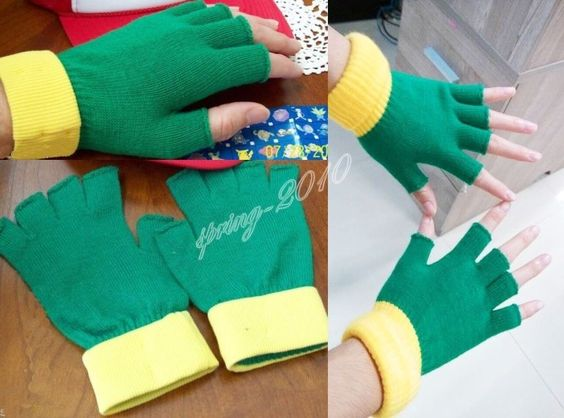POKEMON ~ ASH KETCHUM Costume Gloves - Cosplay - Anime New Anime Fans Gift