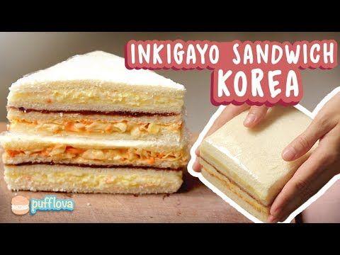 Inkigayo Sandwich Favoritnya K Pop Idol Youtube Roti Lapis Resep Sandwich Makanan
