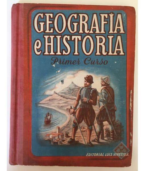 Geografía E Historia Primer Curso Edelvives Editorial Luis Vives Zaragoza 1946 Libros Escolares Antiguos Libro De Sociales Geografia E Historia Geografía