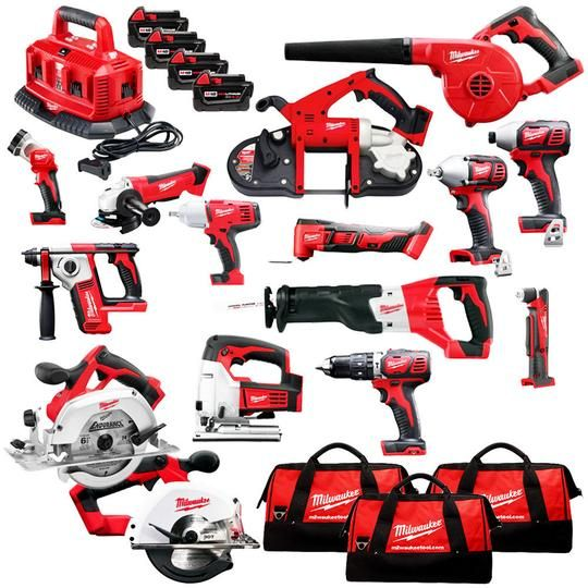 Milwaukee Combo Kit Lxt Milwaukee Combo Kit Milwaukee Tools Woodworking Power Tools