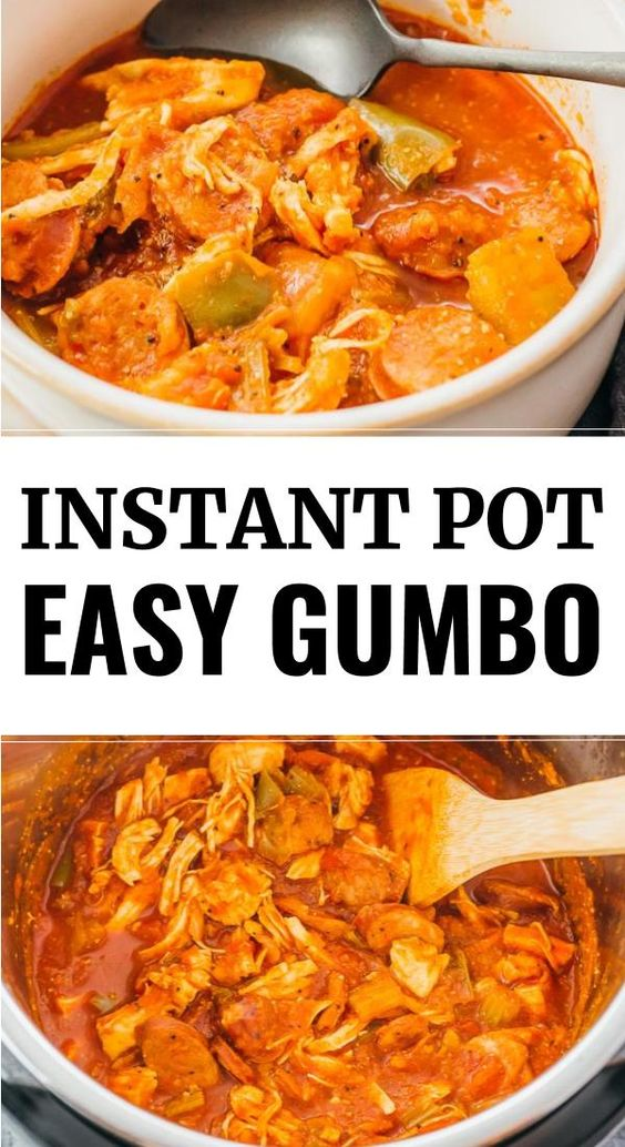 Instant Pot Gumbo - Savory Tooth