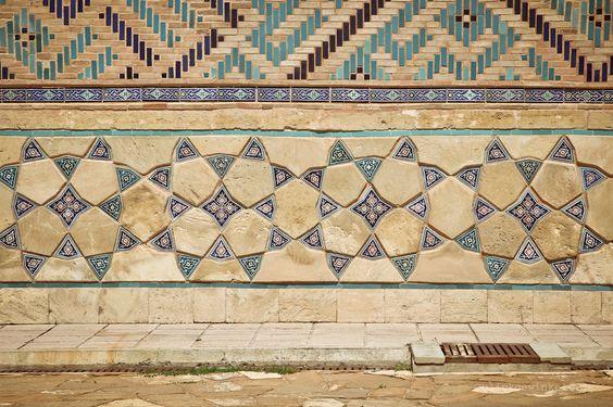Beautiful Khoja Ahmed Yasawi Mausoleum