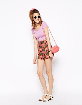 ASOS – Shorts mit Ananasdruck