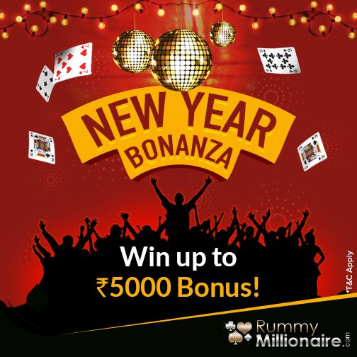 Celebrate Your Wins With Extra Cash Worth Rs 5000 This New Year Start Winning Rummy Rummy Online Rummy Game
