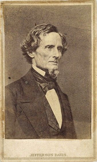 jefferson davis and the confederate states