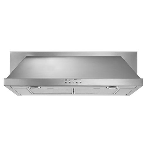Whirlpool 30 In Convertible Stainless Undercabinet Range Hood Common 30 In Actual 30 In Lowes Com In 2020 Stainless Range Hood Range Hood Under Cabinet Range Hoods