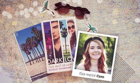 """Caro empfiehlt: """"Dark Love - Dich darf ich nicht lieben"""" von Estelle Maskame in der #BücherWG #stories"""