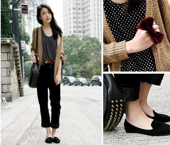 Hong Kong Street Fashion Fall Winter Outfits