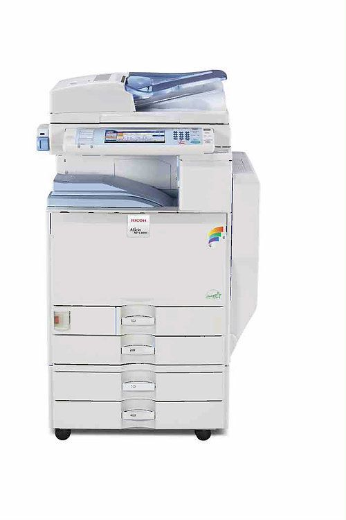 Ricoh Mp C4000 Color Laser Multifunction Copier Printer Scanner
