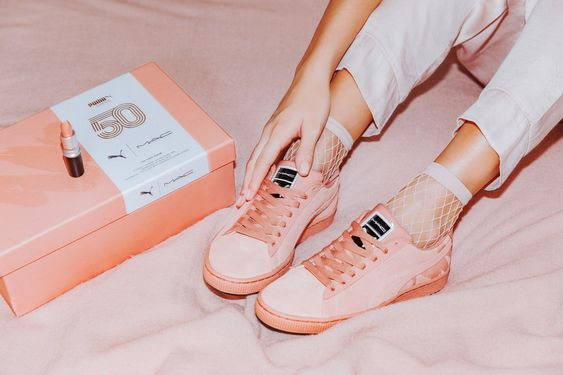 Puma Debuts New Line of Suede Sneakers Inspired by M.A.C.'s Most Popular Lipstick Shades | Teen Vogue