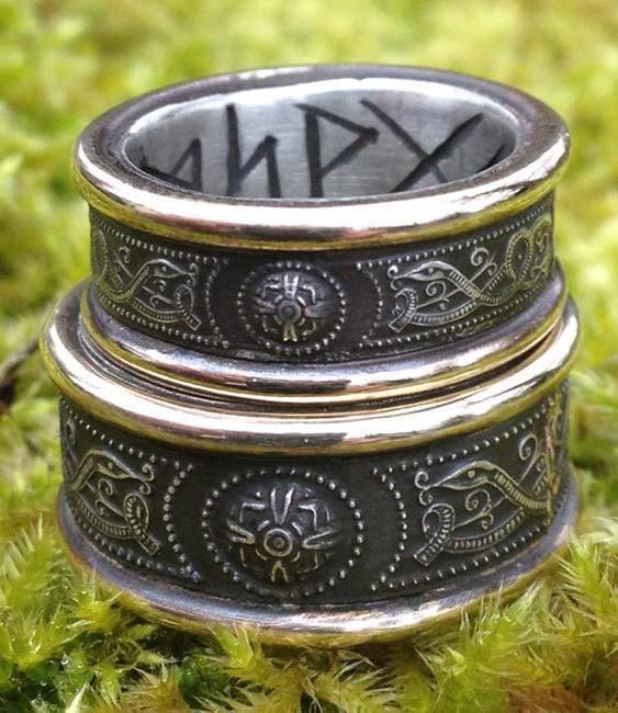 Handfasting Rings By Jason Of England Viking Wedding Ring Gothic Wedding Rings Celtic Wedding Rings