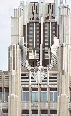 Niagara Mohawk Building // ejemplo de art deco