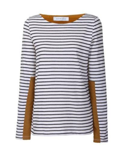 Breton: Striped Tee, Fall Style, Mens Style, Capsule Wardrobe, Breton Stripes, Breton Tan, Kompa Striped, Breton Tops, Style Stripes