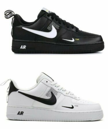air force 1 nike uomo nere