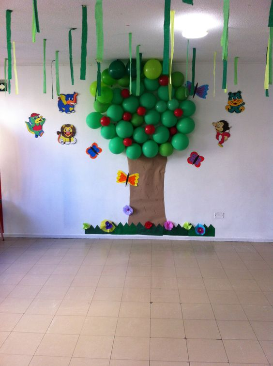 Decoracion invierno para jardin infantil for Decoracion otono infantil