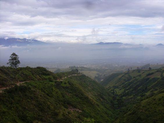 Camino hacia el cielo - Altos de Yaruqui