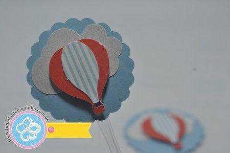Topper Balão 10und