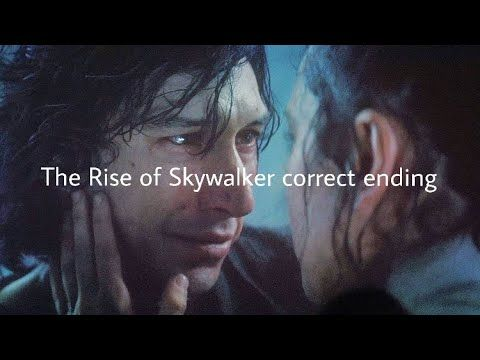 The Rise Of Skywalker Correct Ending Youtube Rey Kenobi Skywalker Star Wars