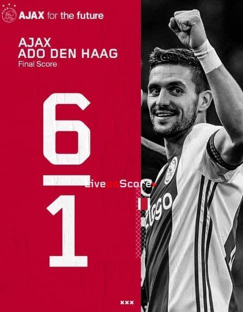 Ajax 6 1 Den Haag Full Highlight Video Eredivisie With Images Match Highlights Highlights Full Highlights