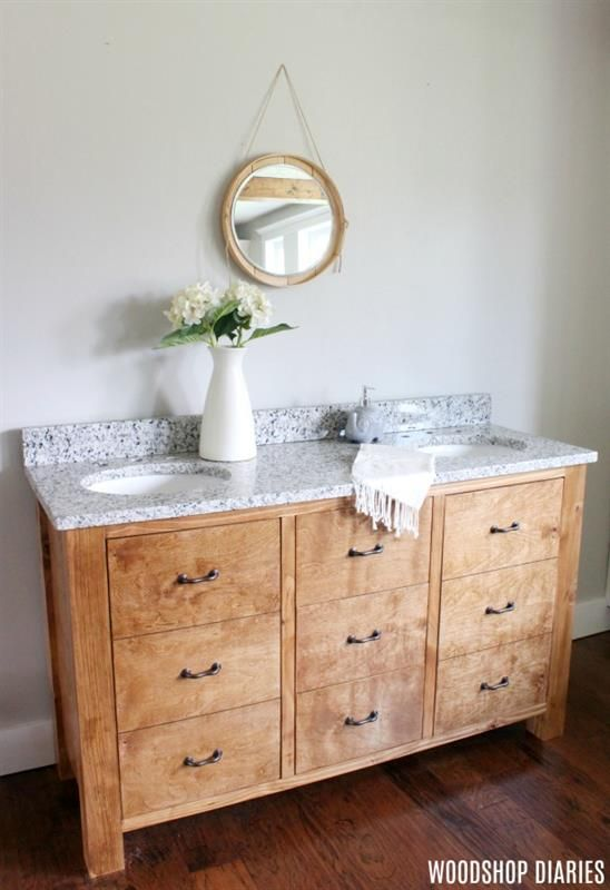 Non Traditional Bathroom Vanities That Look Like Dressers Are So