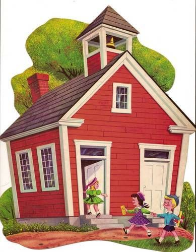 Gallery For > One Room School House Clip Art