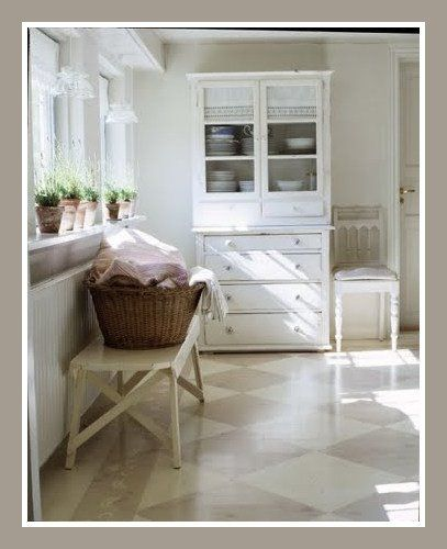Like the floors-for the laundry room