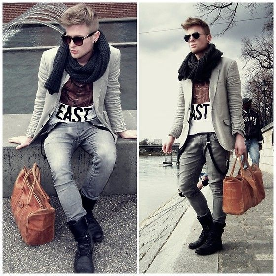 cool men's fashion: Basel Look  (by Amon Despineux) http://lookbook.nu/look/4667793-Basel-Look