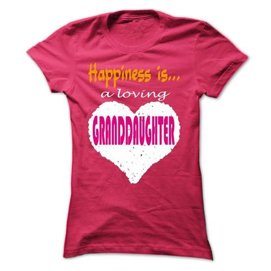 Limited Edition Happiness is a loving grand daughter - #shirts for men #awesome t shirts. GUARANTEE => https://www.sunfrog.com/No-Category/Limited-Edition-Happiness-is-a-loving-grand-daughter-HotPink-20389222-Ladies.html?id=60505