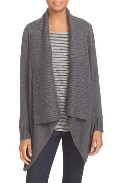 Soft Joie Soft Joie 'Vanhi' Asymmetrical Drape Front Cardigan available at #Nordstrom