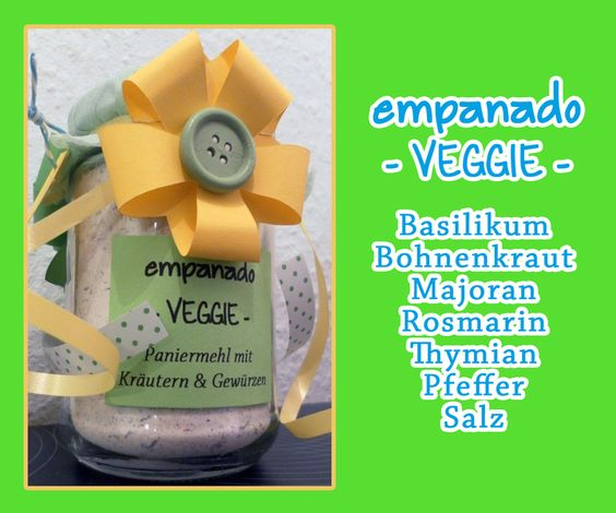 Paniermehl - empanado - VEGGIE - von Sonnentaucher  auf DaWanda.com