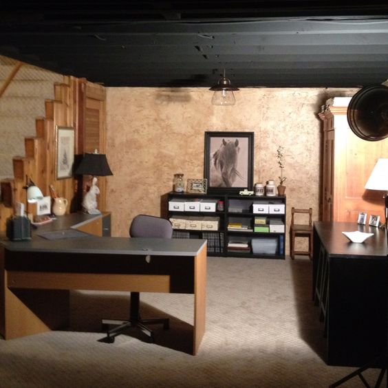 My craft room in the basement.