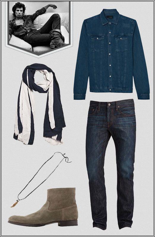 Style Rock : Keith RIchard