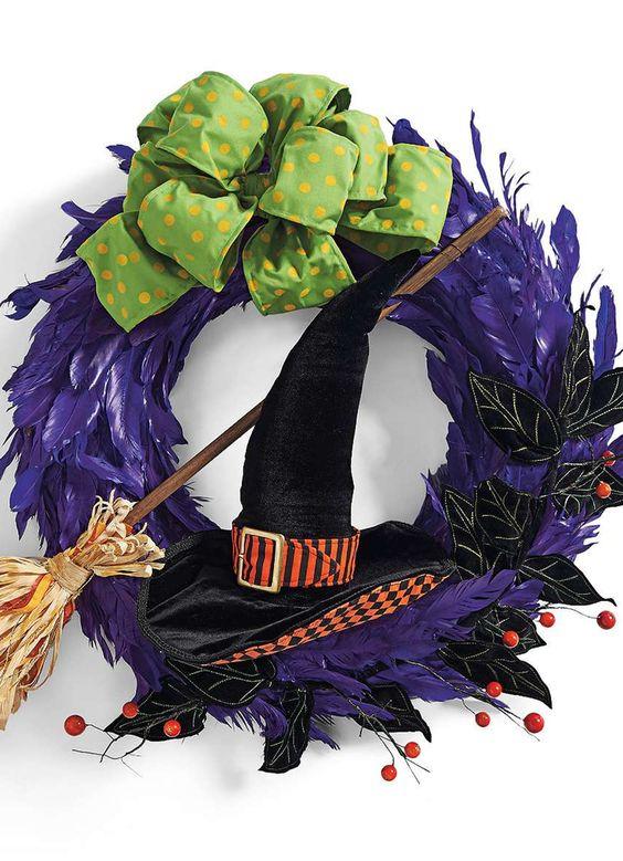 Grandin Road Hocus Pocus Wreath
