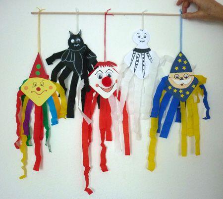 Uhu Maske zum selberbasteln ideen Party Verkleidung fasching