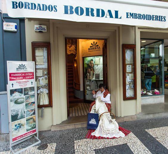 A nossa loja / fábrica na Fernão Ornelas no funchal #bordal #shop #embroidery #madeiraembroidery