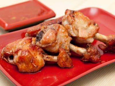 Caramelized Bourbon Maple Glazed Chicken Wings