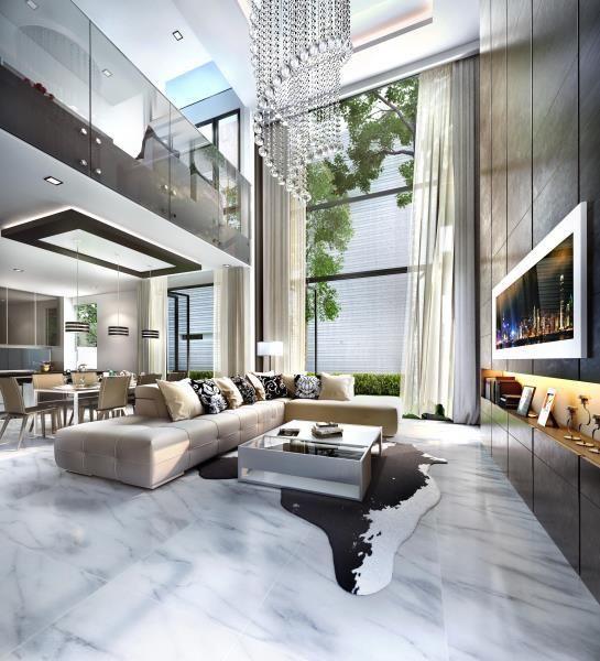 Lakefront Villa Modern House Design Modern Interior Design Luxury Home Decor
