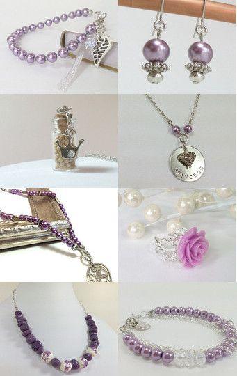 Purple Passion~ Handmade, Christian jewelry --Pinned with TreasuryPin.com