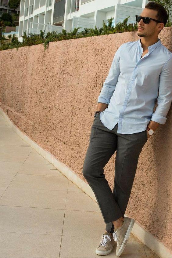 Street style looks Sandro Instagram . #mens #fashion #style