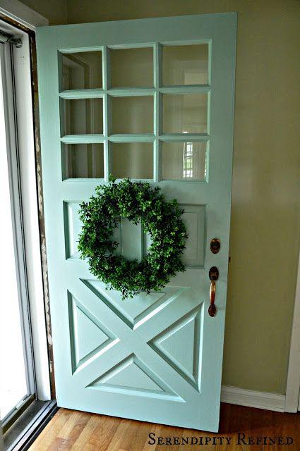 Paint Colors Exterior Doors And Dutch Door On Pinterest